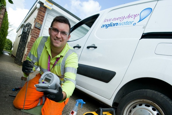 Smart water meter trial rolled out in Suffolk