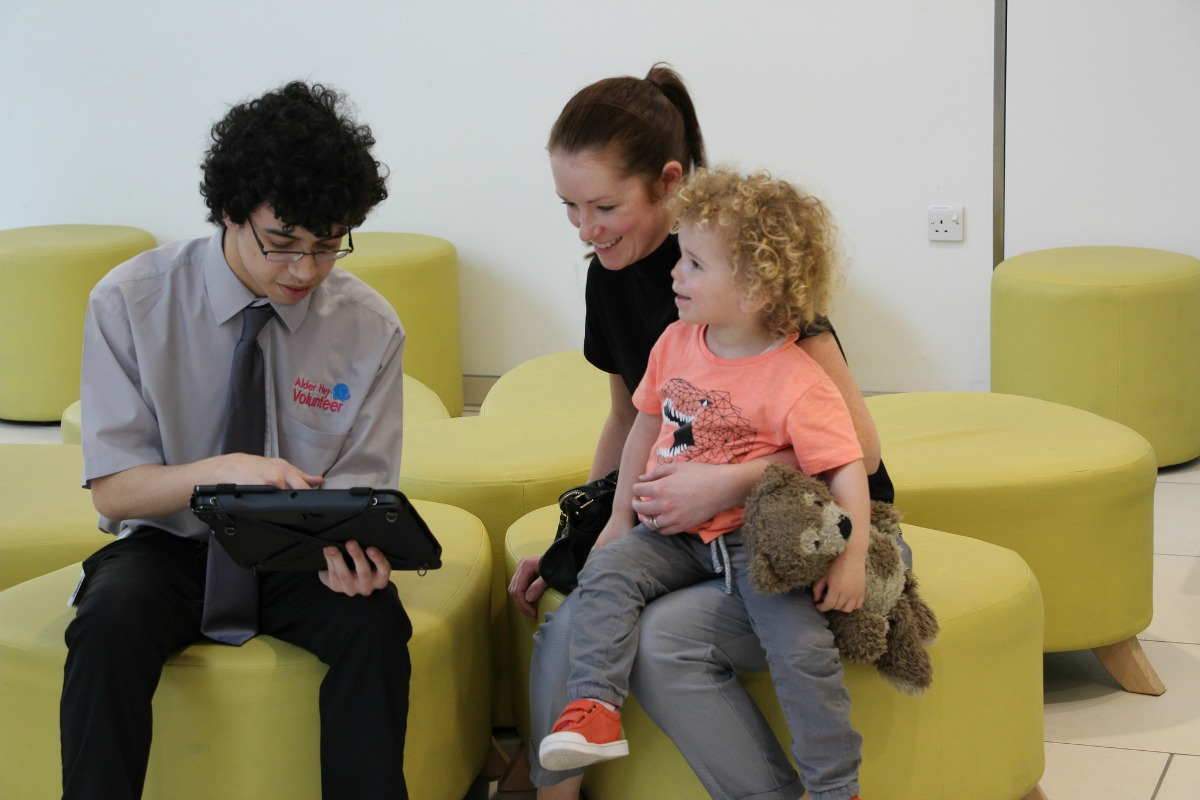 Technology aims to make hospital stays less daunting for children