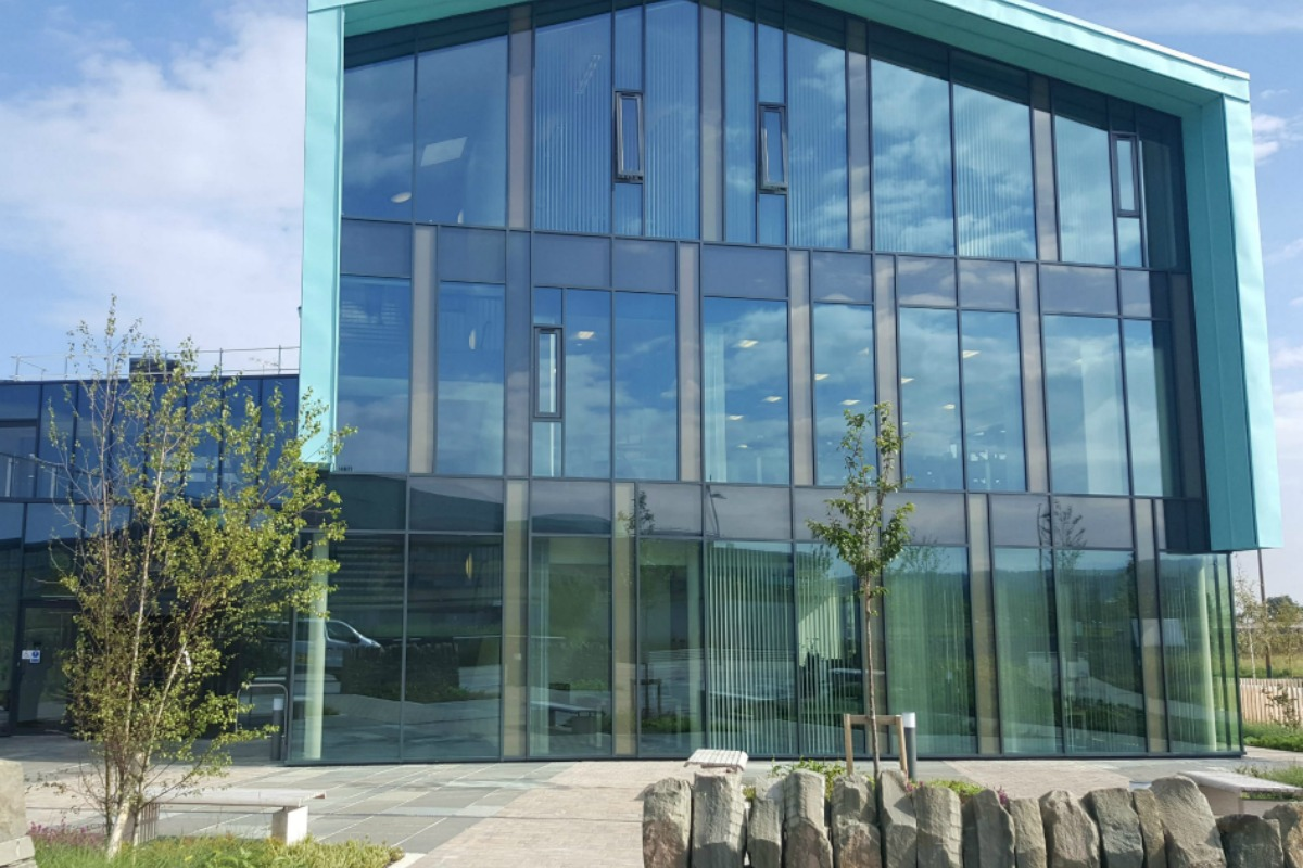 The An Lòchran building on Inverness Campus, home to the IoT network