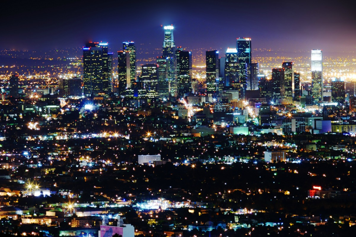 LA has more than 200,000 street lights throughout the city