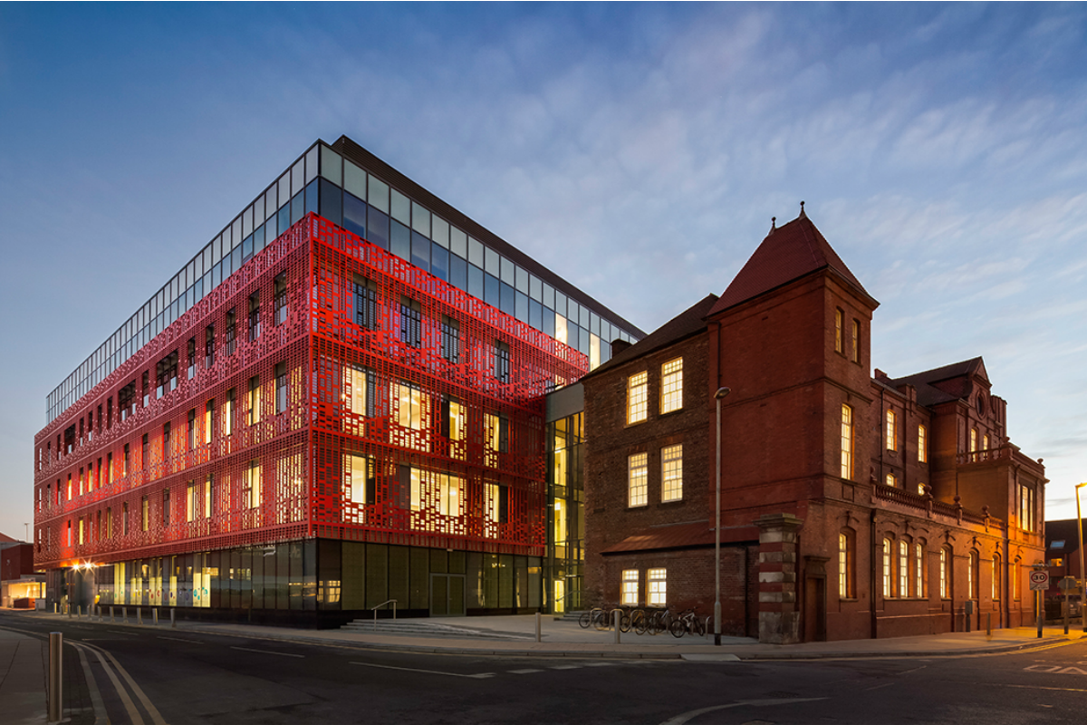 The Citylabs 1.0 building in Manchester's Innovation District, Corridor Manchester