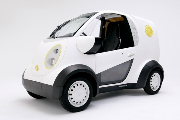Honda and Kabuku unveil 3D printed micro car