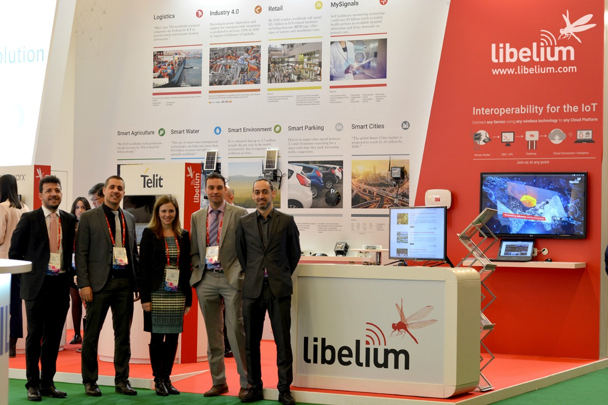 Libelium is using MWC17 to present a range of new IoT solutions