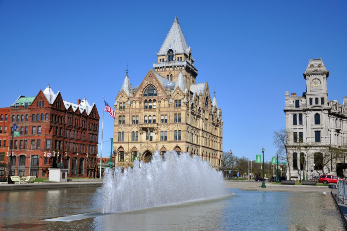 Syracuse in the US is one of the cities to have benefited from the IBM programme