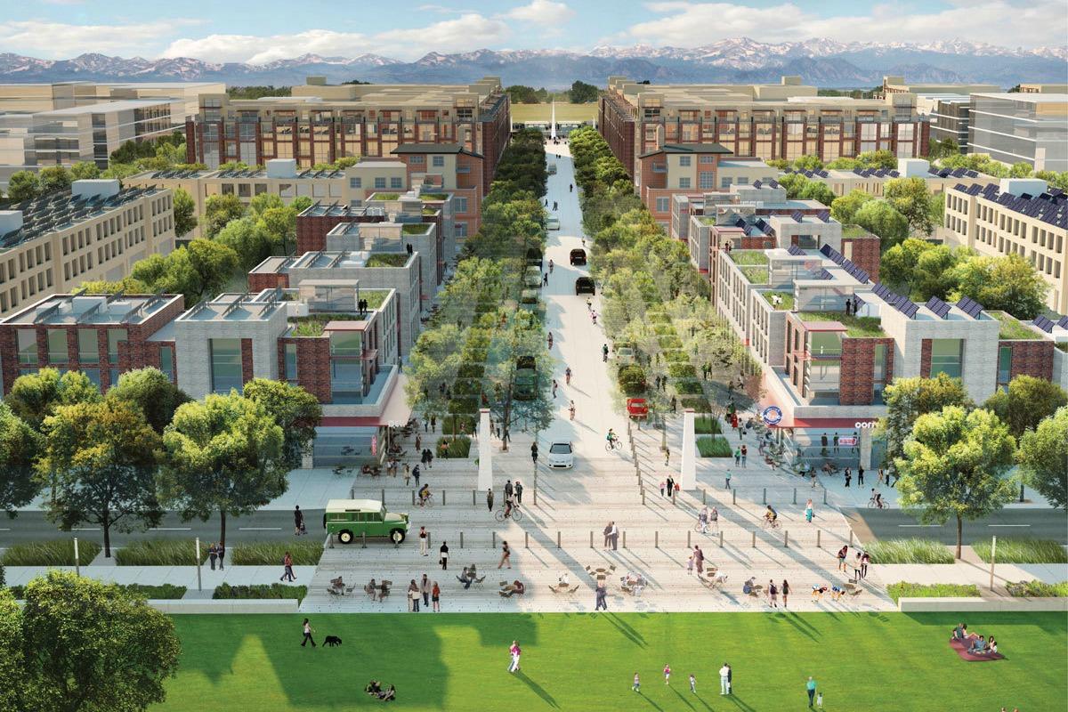 Peña Station NEXT is the location for Panasonic's smart city showcase