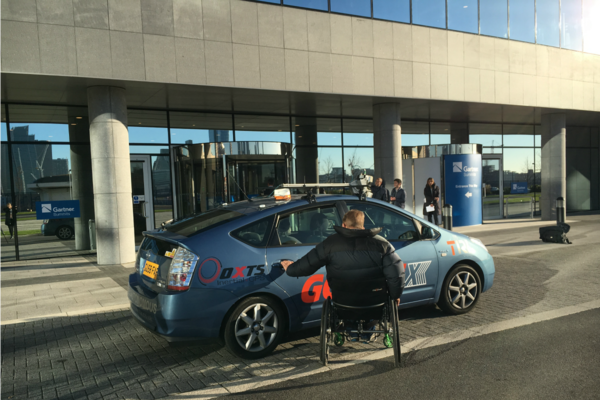 UK trial demonstrates how autonomy can help disabled drivers