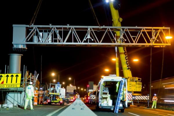 Smart milestone for Manchester motorway