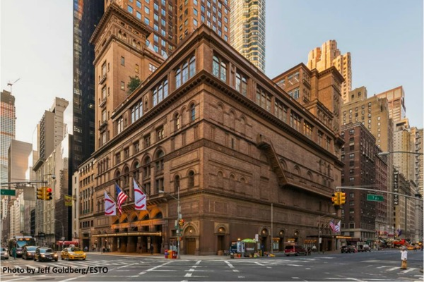 Safety and sustainability at Carnegie Hall