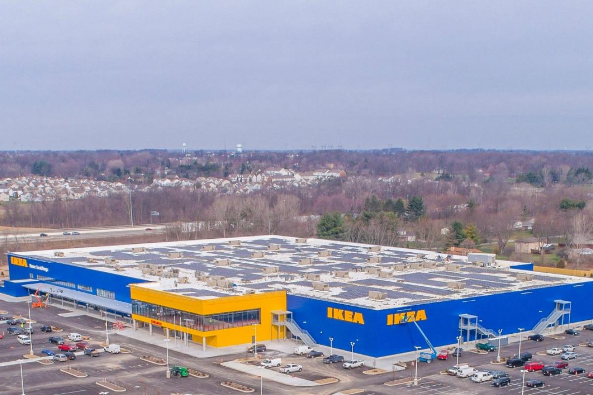 Ikea Completes 1 21mw Rooftop Solar Array In Columbus Smart Cities