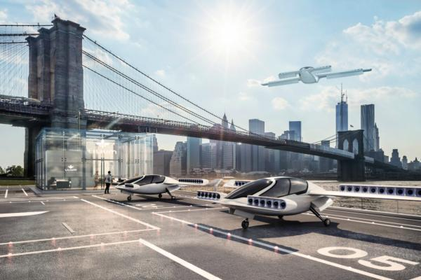 Flying taxi of the future?