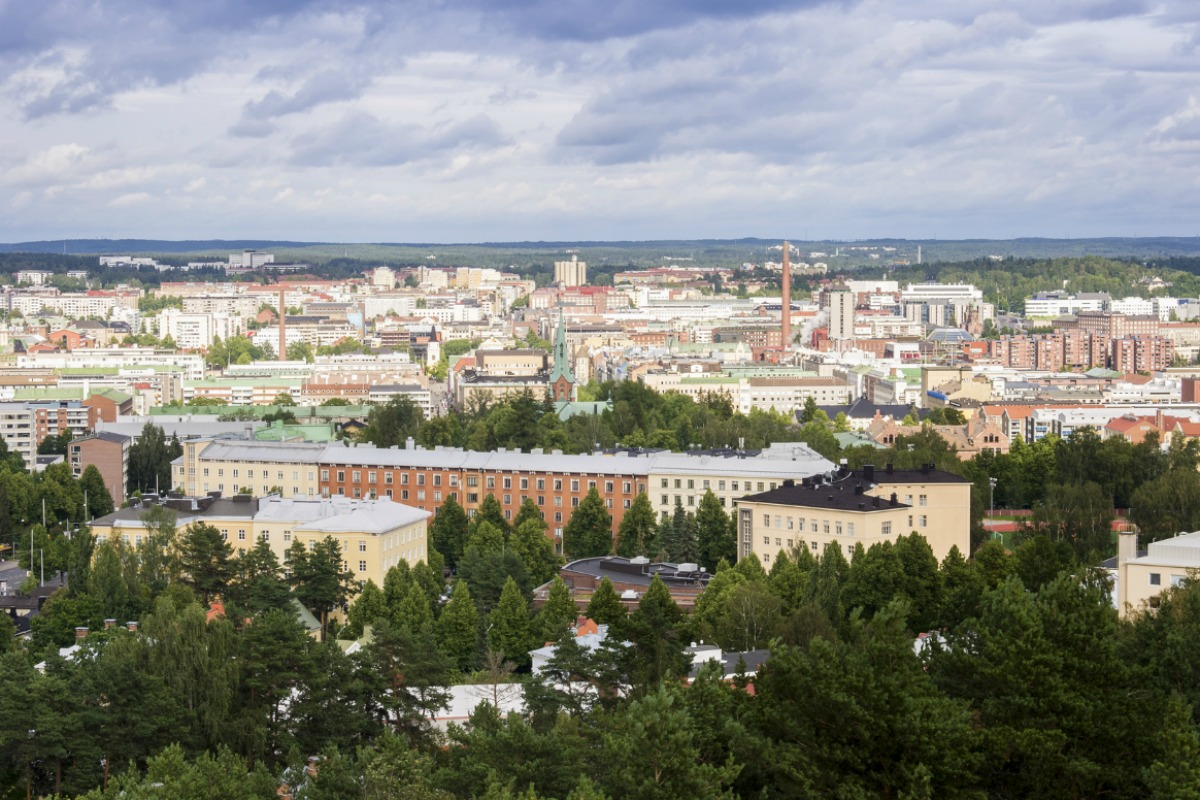 Smart Tampere is a city-wide policy which aims to create a living lab