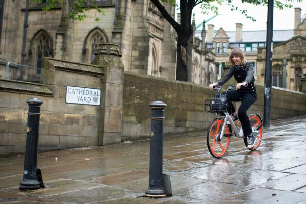 Manchester in Mobike European first
