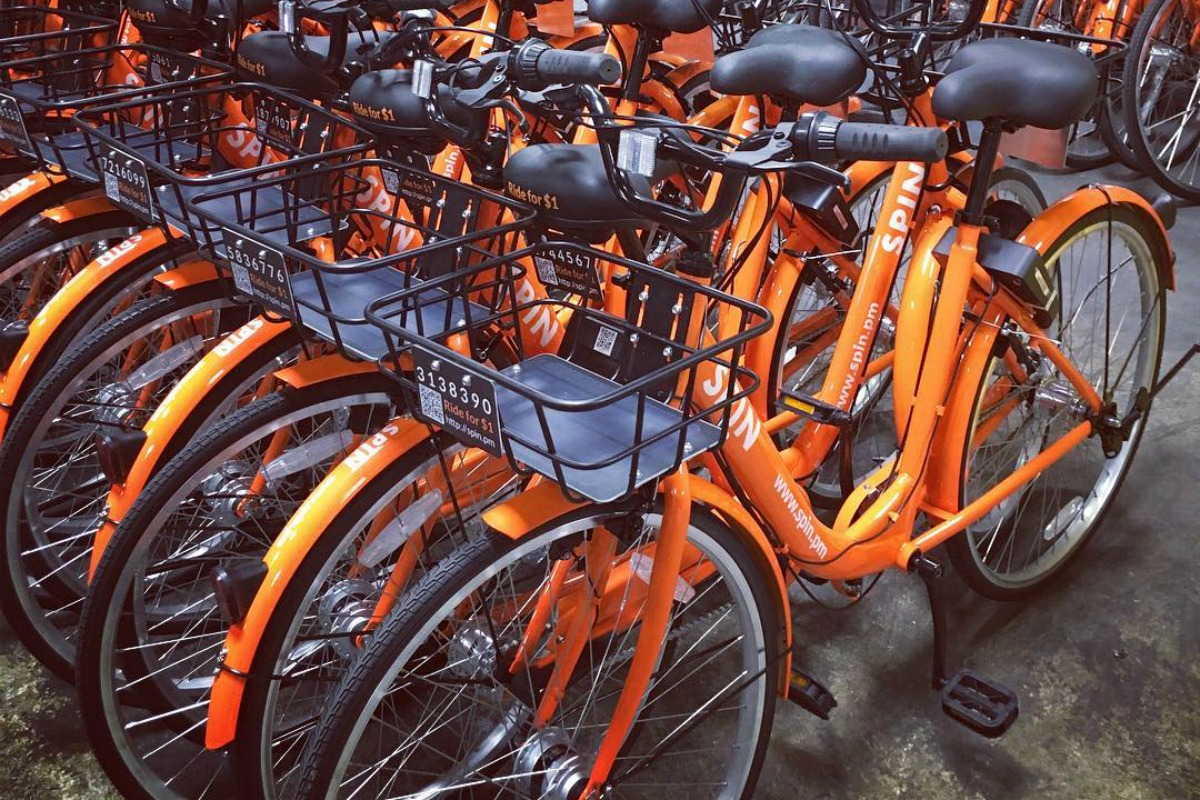 Spin's fleet of orange, GPS-enabled smart bikes come to Seattle