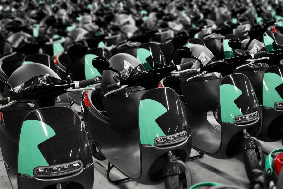 Gogoro's Smartscooters look set to become a popular, fuss-free mode of transport for Parisians