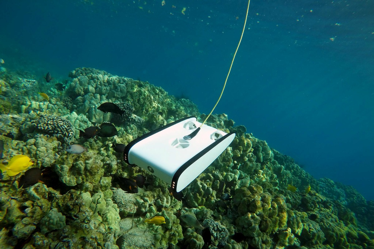 Historically, underwater drone technology was only available to the military and oil and gas sectors
