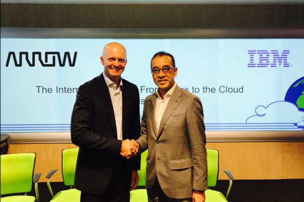 Arrow integrates Watson in IoT push