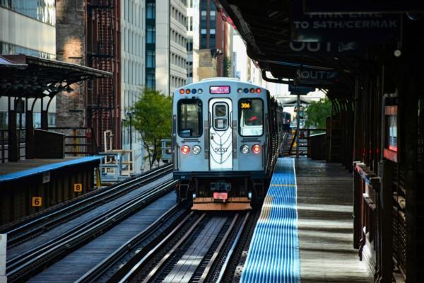 Chicago transit app reaches milestone