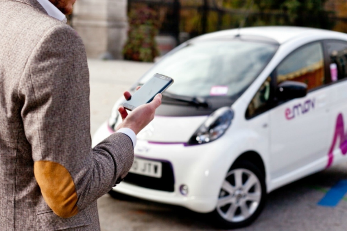 The Emov electric car project in Madrid, which EYSA launched with PSA Group Picture: PSA Group