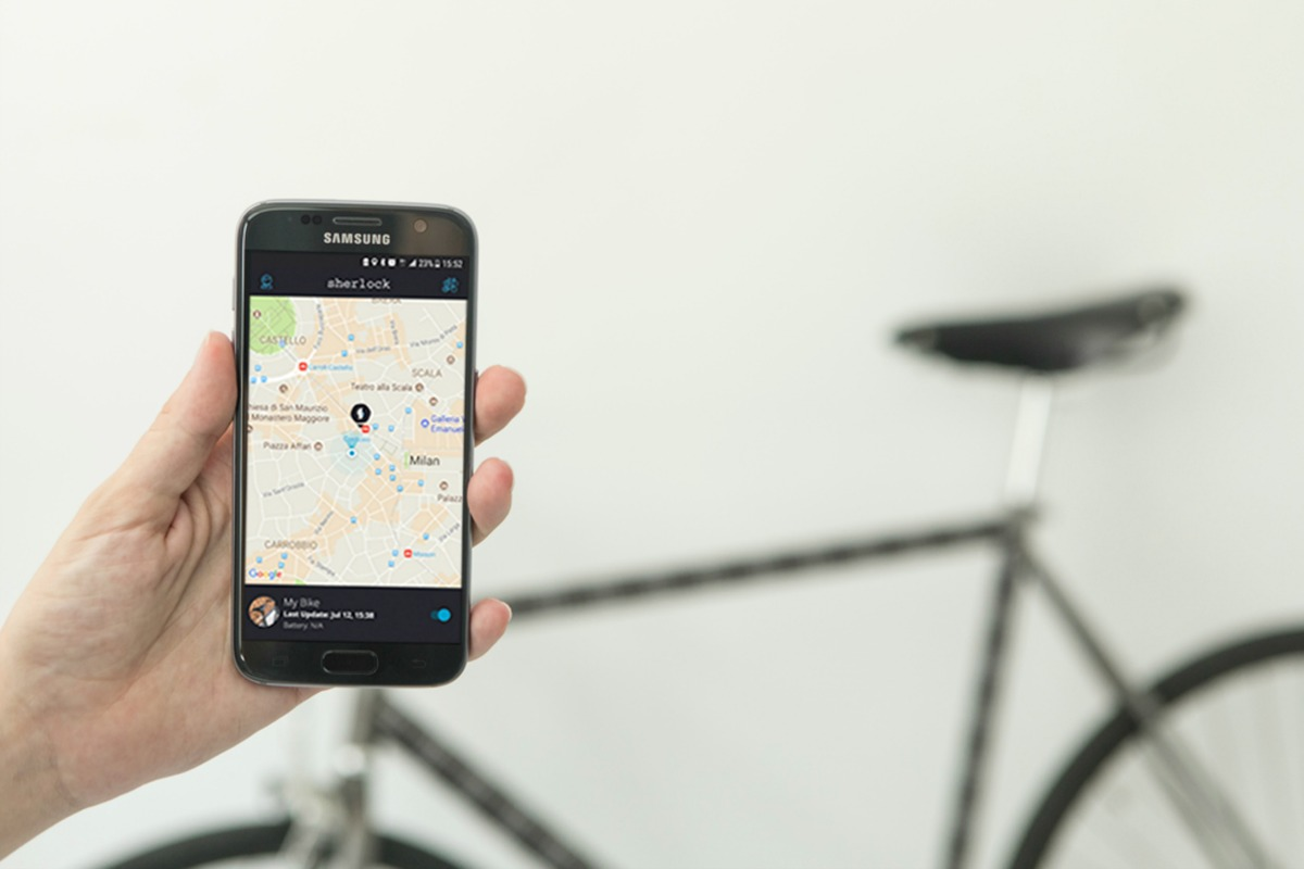 The device also acts as a unique identifier for the bicycle, thanks to a 'bike passport'