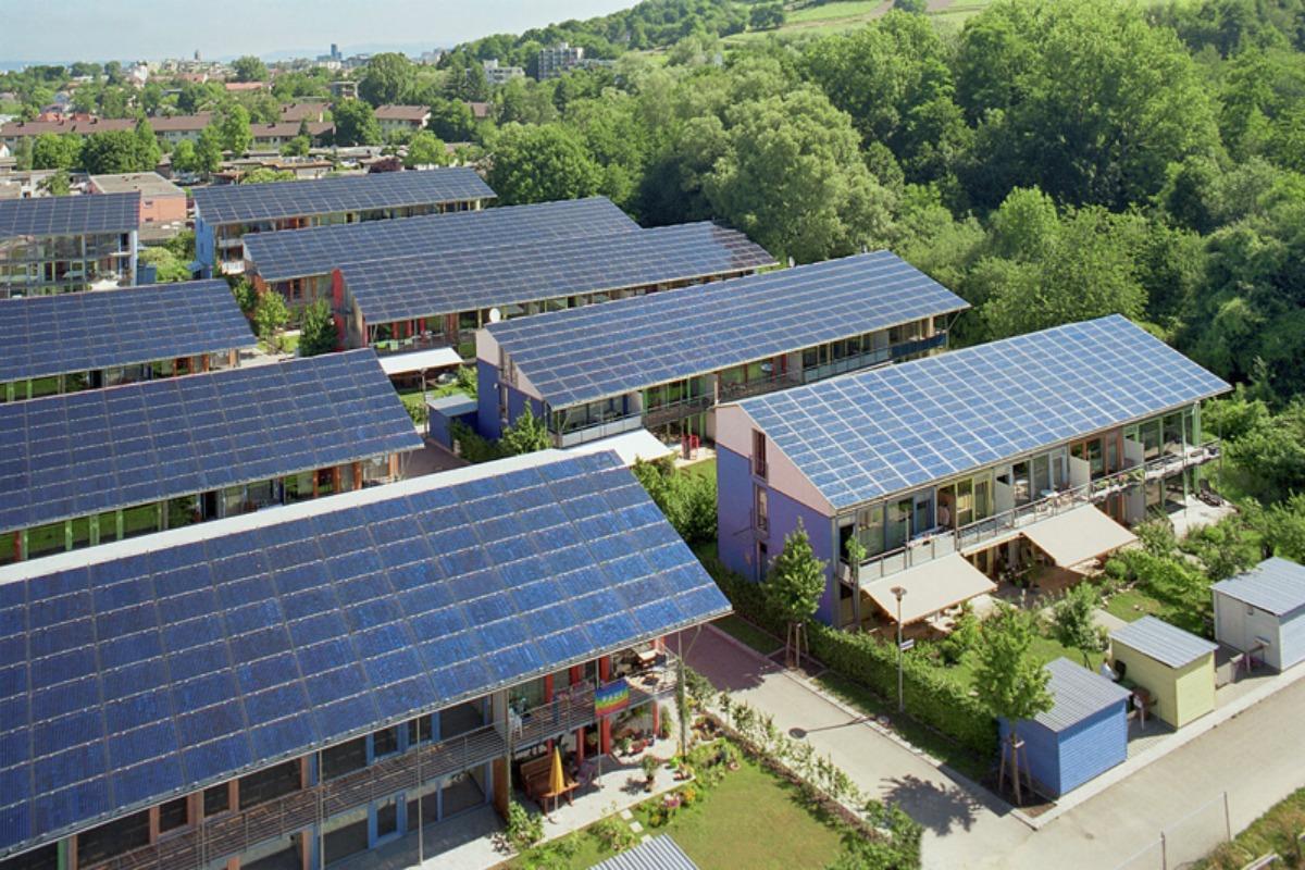 Solar settlement Freiburg