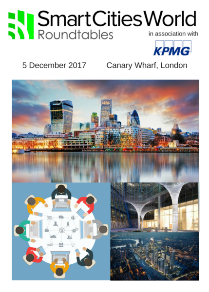 Smart Infrastructure Round Table Discussions - 5 December 2017