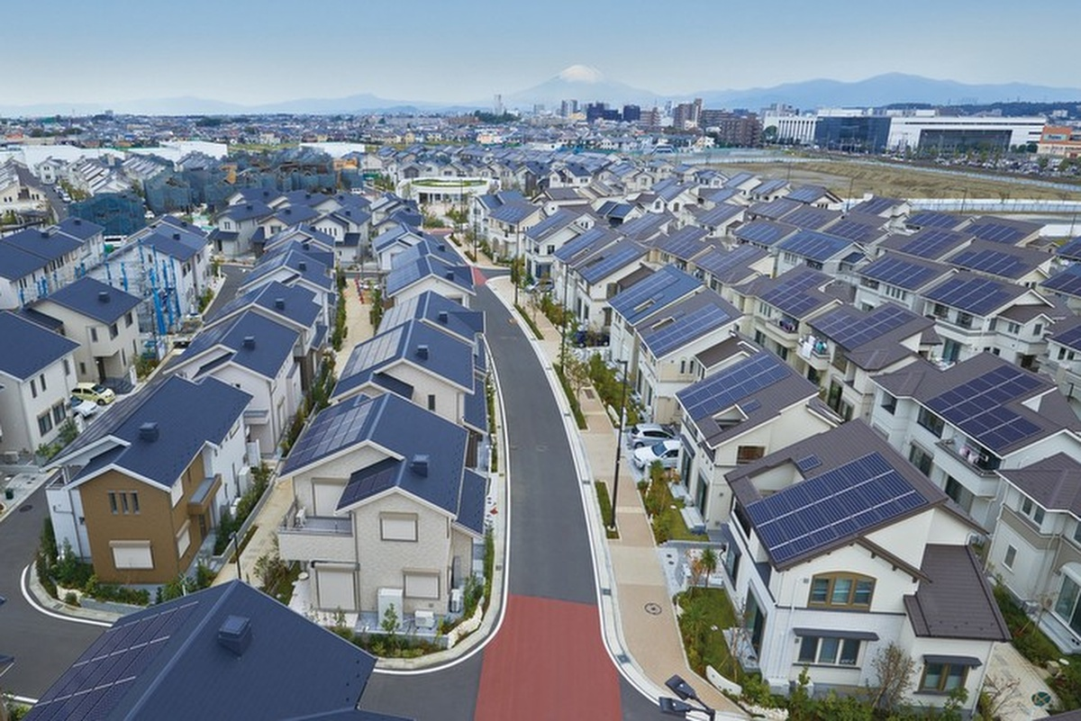 Rooftop solar panels will be part of the mix of distributed energy sources used