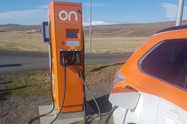 Iceland boosts fast-charging