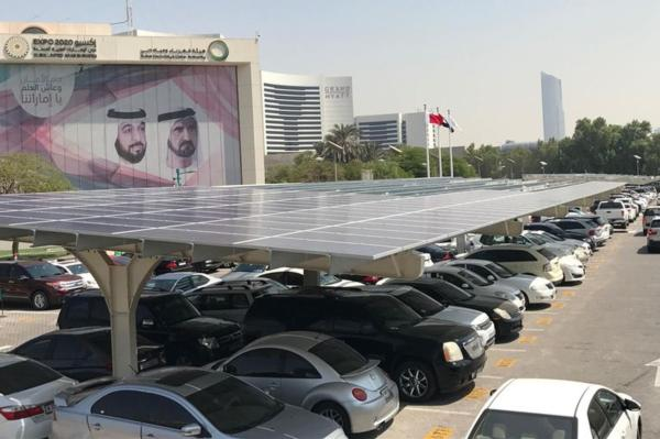 Solar carports help Dubai realise its vision