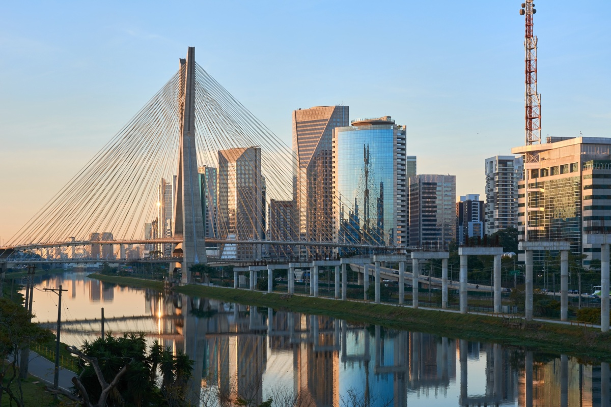 Sao Paulo is one of the cities that is featured in the Future Cities report