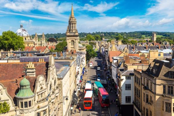 City of Oxford aims to be emission free