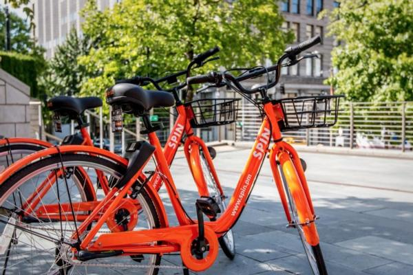 City of Aurora Spins into bike-share action