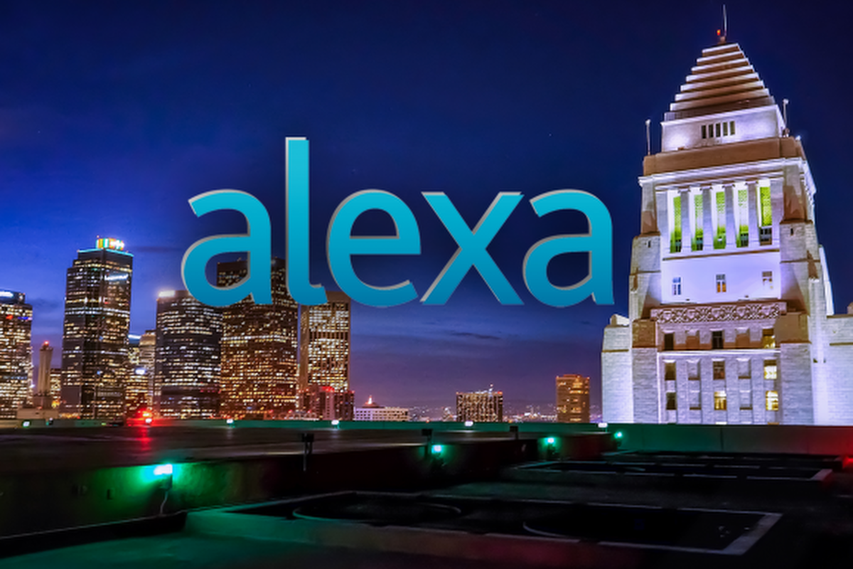 Los Angeles citizens ask Alexa what is happening in City Hall. Image courtesy: City of LA