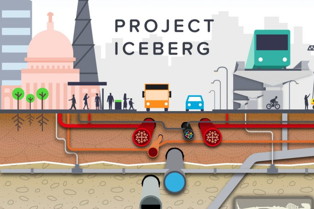 Project Iceberg aims to help increase the viability of land for development