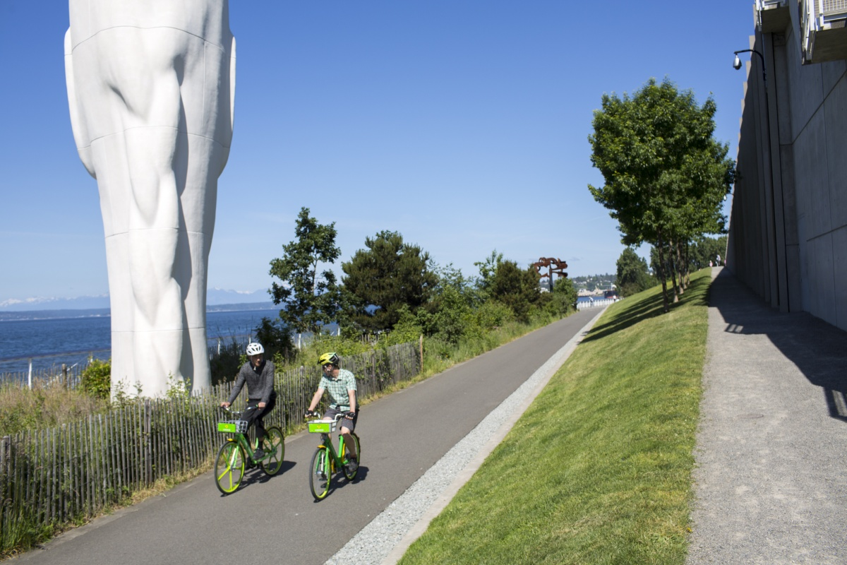 Since launch five months ago, LimeBike has 103,000 active users in Seattle