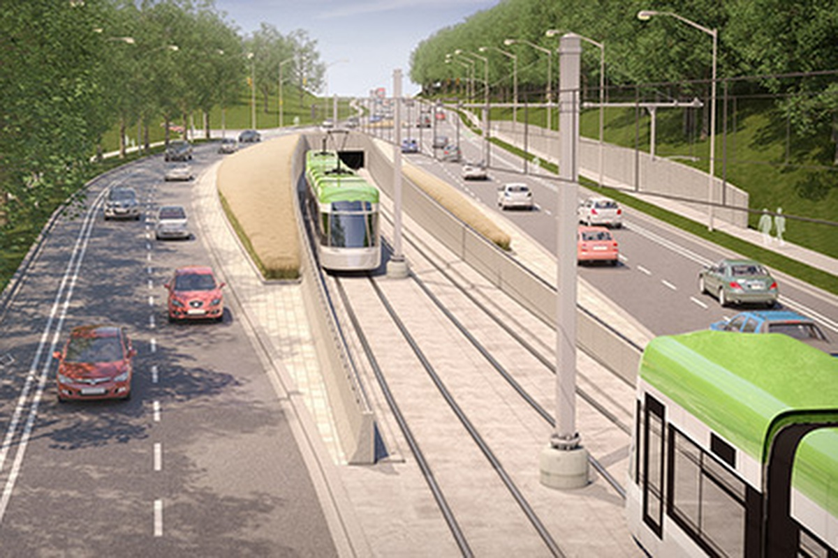 Construction on the line has begun and the service will begin in 2021 Image: Metrolinx