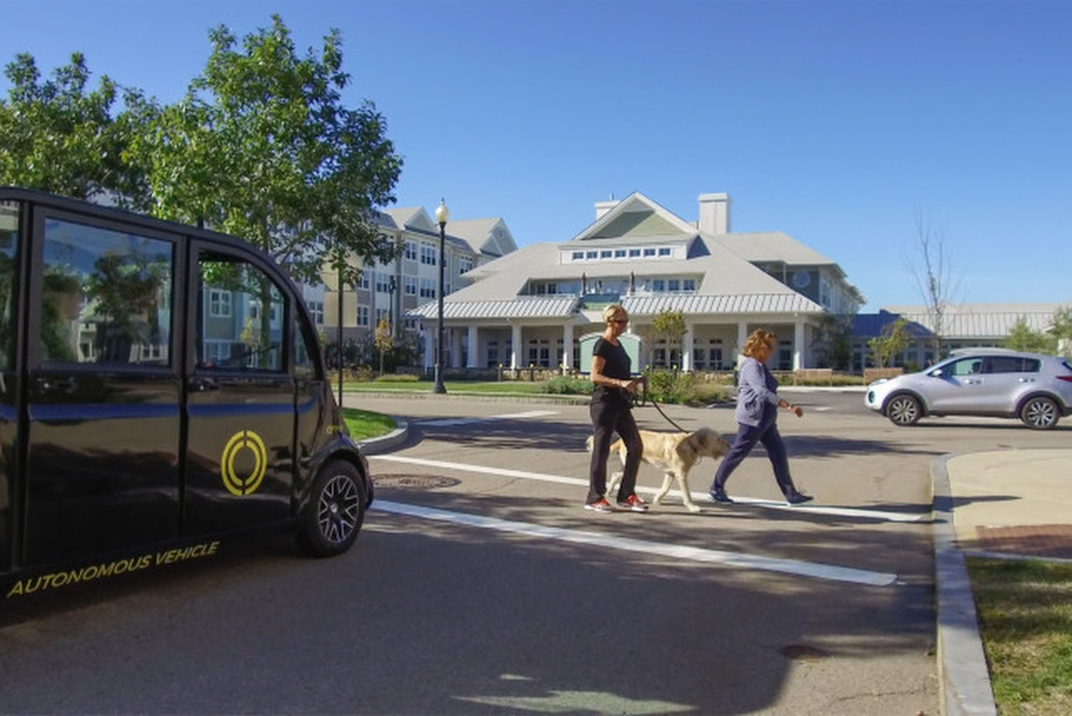 Optimus Ride's driverless fleet will be on hand at Union Point
