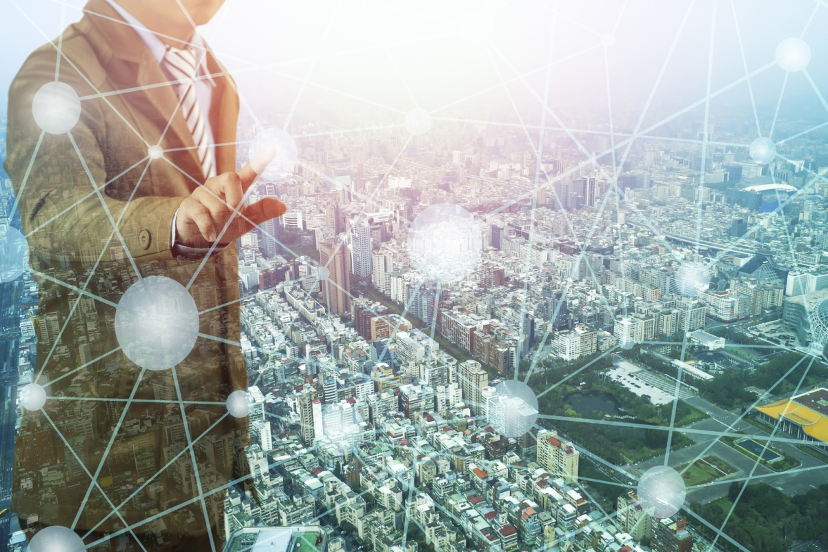 Multi-Network Connect has one interface to manage all IoT endpoints