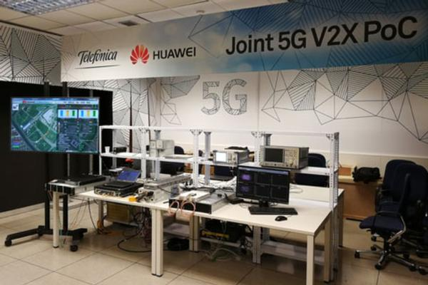 5G milestone for vehicle comms