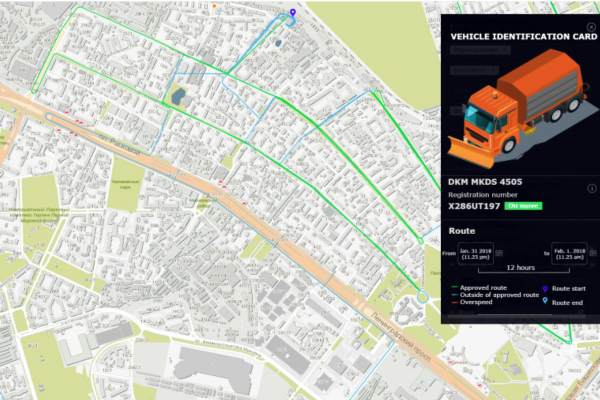 Moscow's municipal vehicles are now online