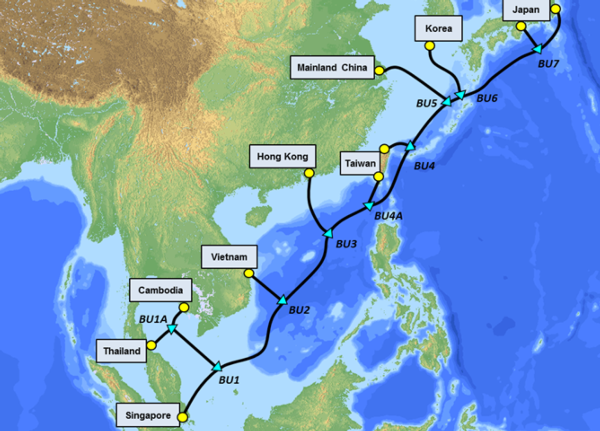 Submarine cable to connect Southeast Asia