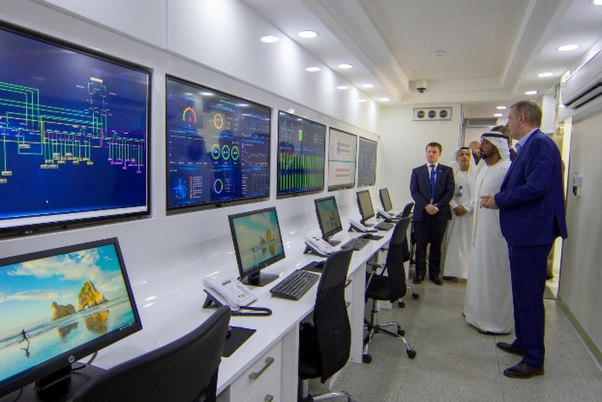 His Highness Sheikh Ahmed Bin Saeed Al Maktoum, chairman of Dubai Airports, visits the centre
