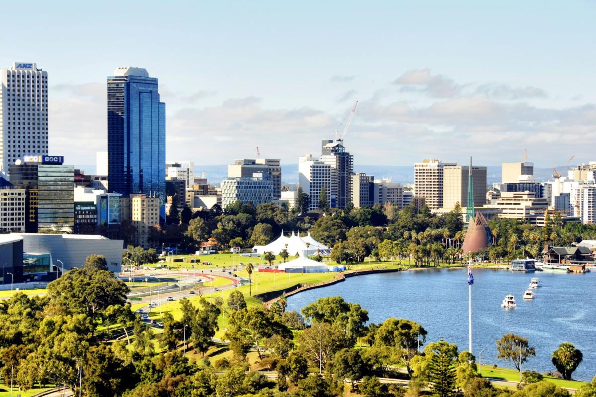 The inner suburb of West Perth in Australia is the algorithm's choice for best place to live