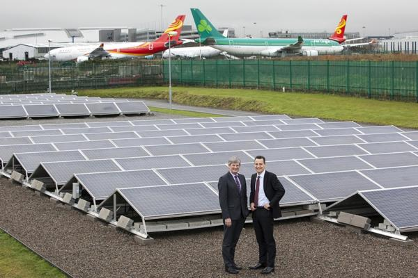 Dublin Airport unveils solar farm