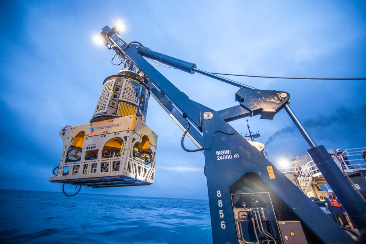 The semi-autonomous underwater ROVs being put to use on oil and gas projects