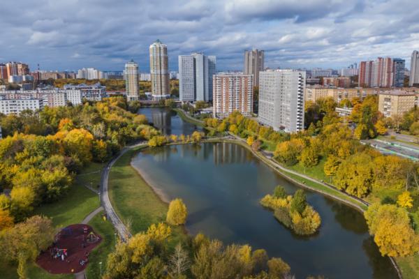 Muscovites meet their neighbours online