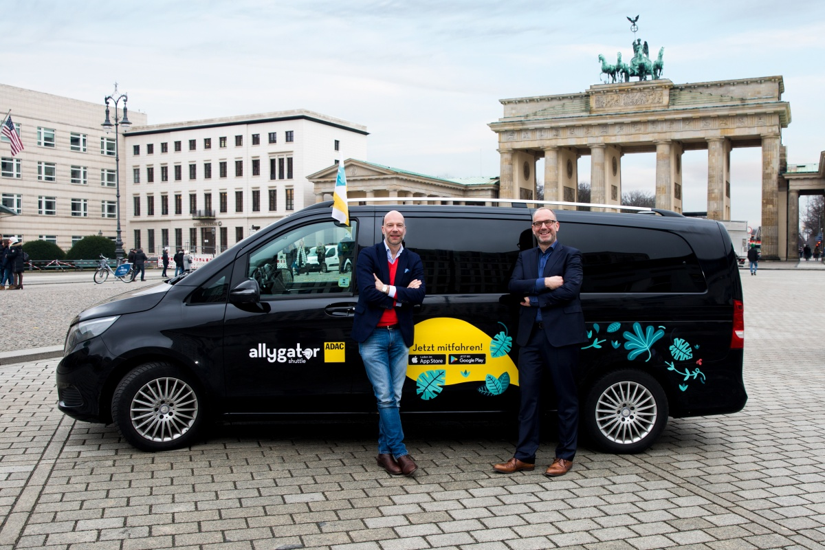 The Allygator Shuttle will pilot the on-demand service in Berlin