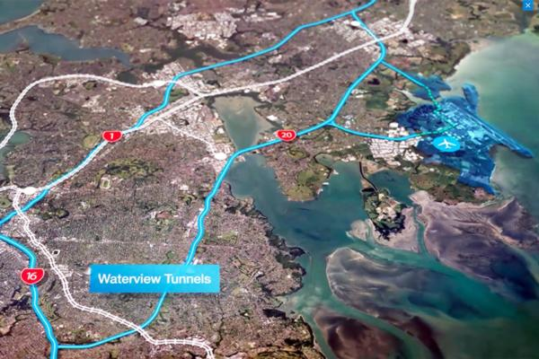 Auckland Airport eases passenger flow from city to gate