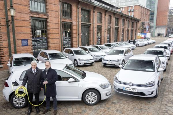 e-Golf initiative aims to lower Hamburg's emissions