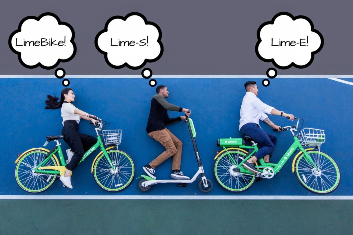 LimeBike's transport options are designed to solve first- and last-mile challenges