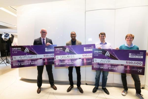 Urban future winners announced